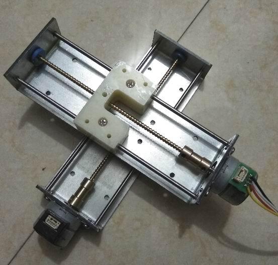 3pcs lot Y27 100C 2 phase 4 wire deceleration stepper motor stroke 100mm
