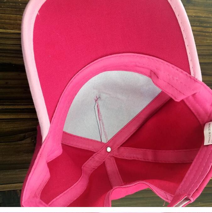 1pcs cartoon cute girl Fashion Sun Hat Mario Casual Cosplay Baseball Cap children party gifts