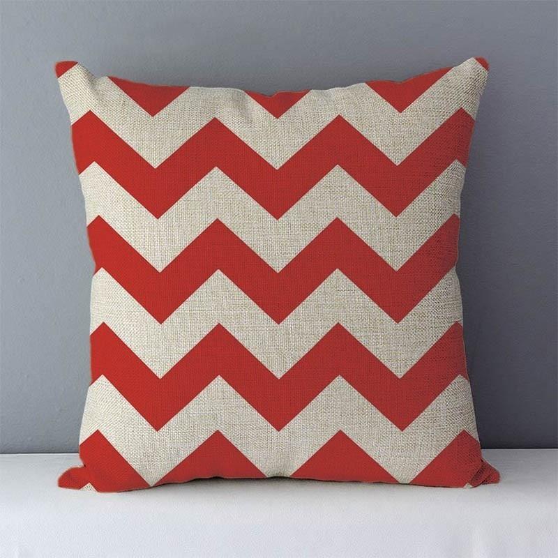 HTB1nc1jXovrK1RjSspcq6zzSXXa5 Quality Cozy Popular geometric couch cushion home decorative pillows cotton linen 45x45cm seat back cushions bedding pillowcase