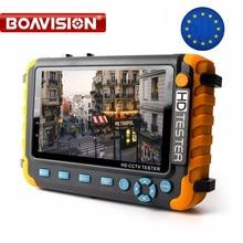 BOAVISION 5 Zoll TFT LCD 1080P / 5MP 4 IN 1 TVI AHD CVI Analog CCTV Tester Sicherheit Kamera tester Monitor Hdmi eingang Audio Test