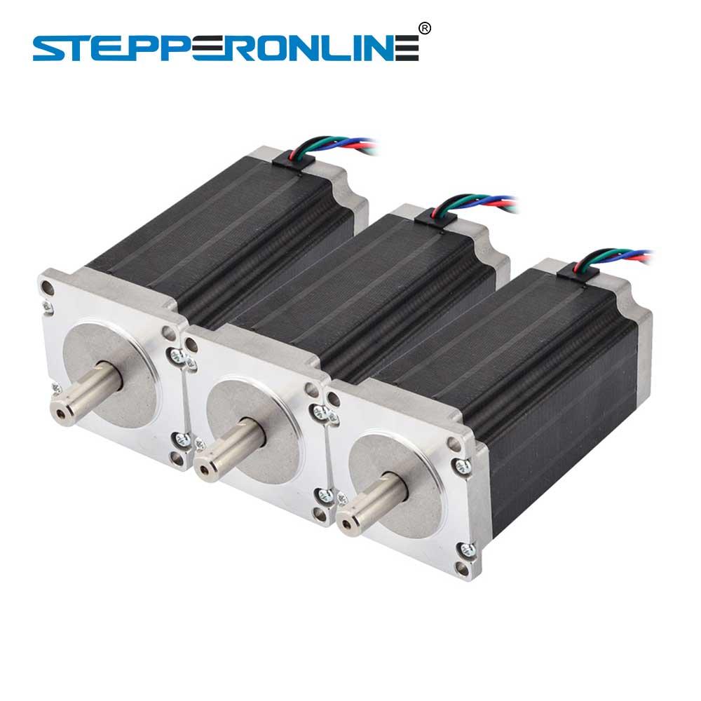 Stepper Motor 3PCS Nema23 23HS9430 single shaft 425oz.in 3A NEW CNC LONGS MOTOR