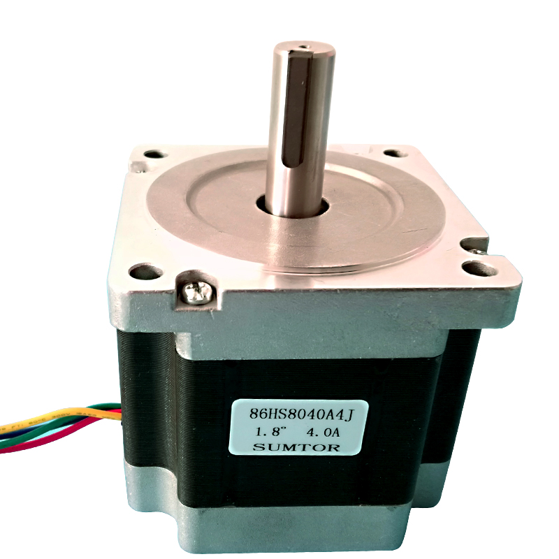 2phase NEMA34 4NM 600oz in stepper motor with 14mm shaft keyway