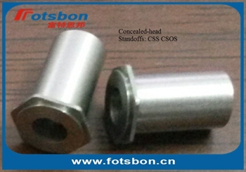 CSOS-440-3 concealed-head standoffs, PEM standard,in stock, made in china,stainless steel 303