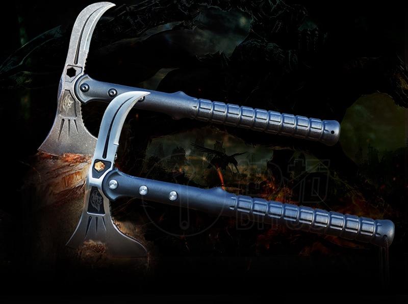 FBIQQ חדש הנשר פלדה tomahawk בחוץ שדה המחנה - קמפינג וטיולים