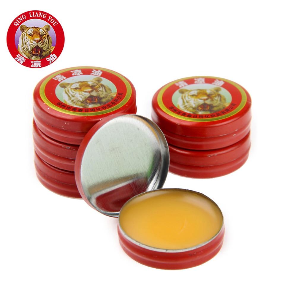 24 шт./кор. классический китайский бренд Tiger Balm обезболивающее массажное масло тигр бальзам мазь натуральный мятный Эфирные масла