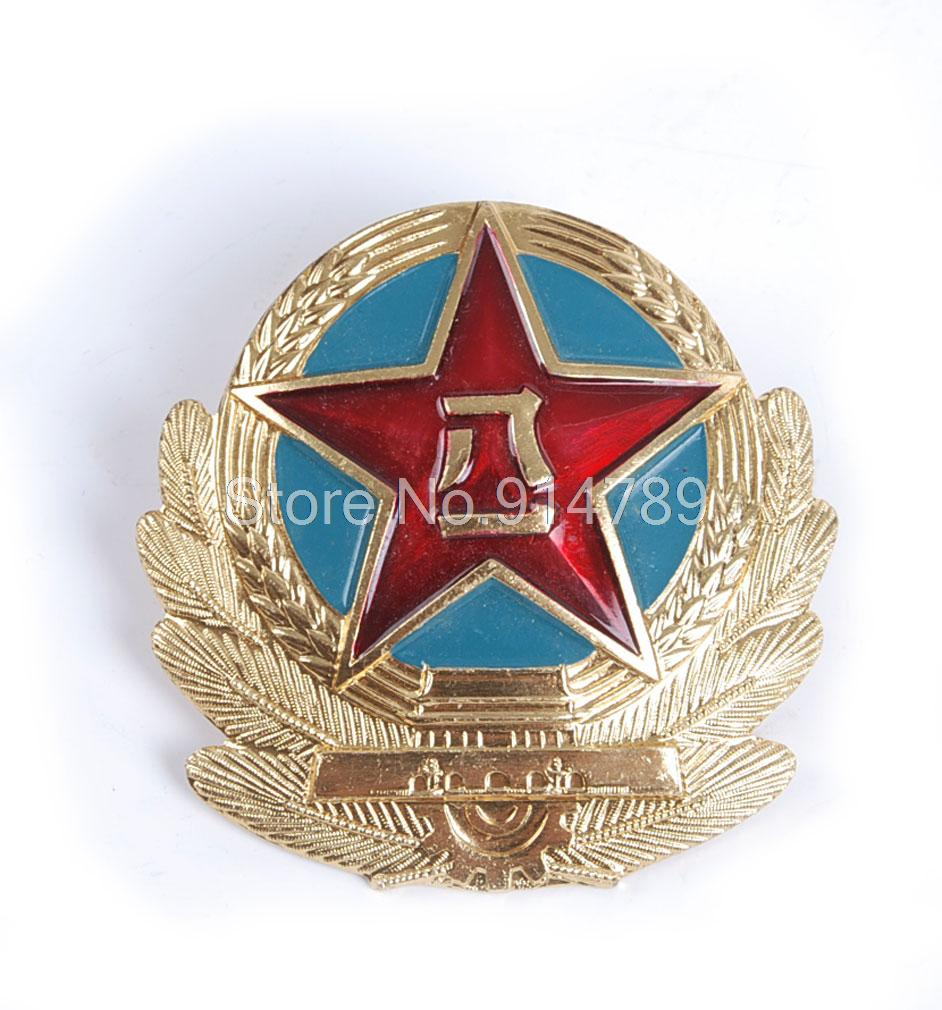 SURPLUS CHINESE ARMY MILITARY PLA AIR FORCE CAP BADGE INSIGNIAS-35729