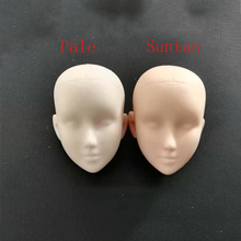 1/6 Female Unpainted Bare Head Sculpt Models for 12'' Suntan or Pale Bodies Practice nancey c murphy bodies and souls or spirited bodies