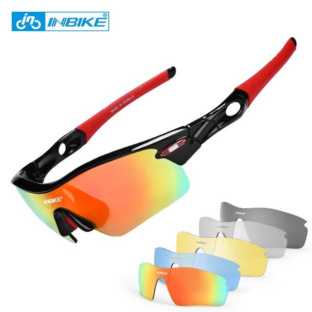 911590dddd72d INBIKE Óculos Polarizados Ao Ar Livre óculos de Sol Do Esporte Óculos de  Bicicleta MTB Bicicleta