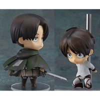 Attack On Titan Clay No. 390 Chief 375 Allen 10CM Action Figure Decoration Model Kids Toy Gift