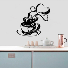 Classic Coffee Vinyl Self Adhesive Wallpaper vinyl Stickers Room Decoration