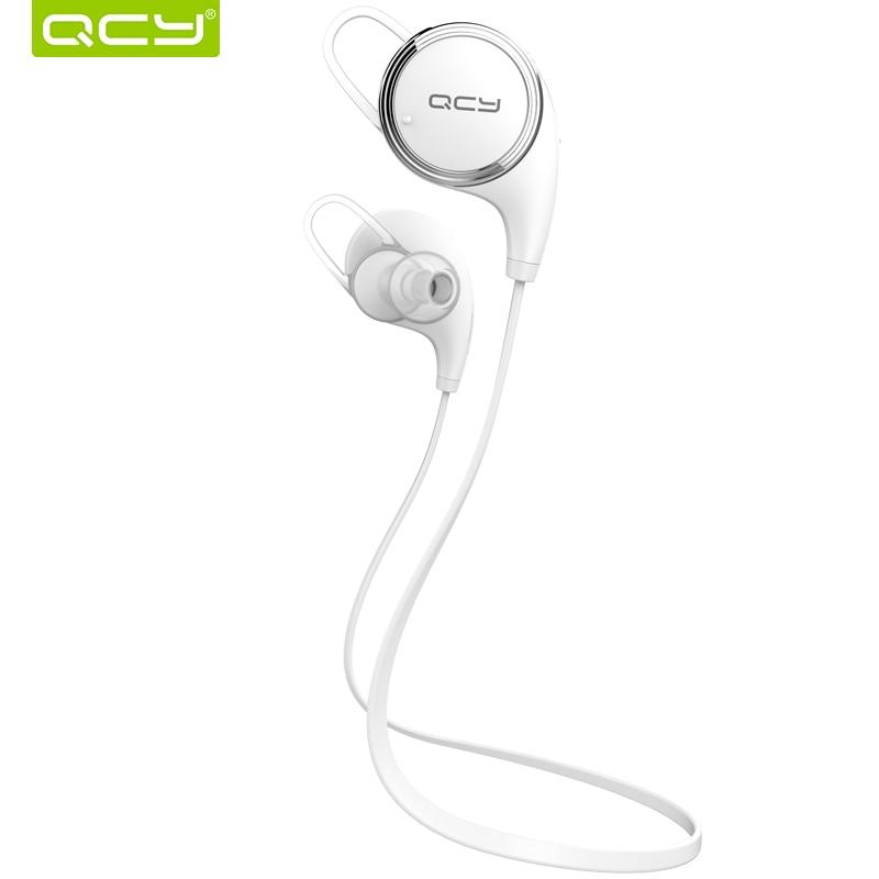 QCY QY8 אוזניות ספורט אלחוטיות bluetooth 4.1 אוזניות סטריאו אוזניות אטומות לזיעה AptX HIFI עם שיחות מיקרופון אוזניות מוסיקה mp3