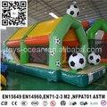 Nuevo diseño combo gorilas inflables con el partido de fútbol/inflables/puente inflable para los niños