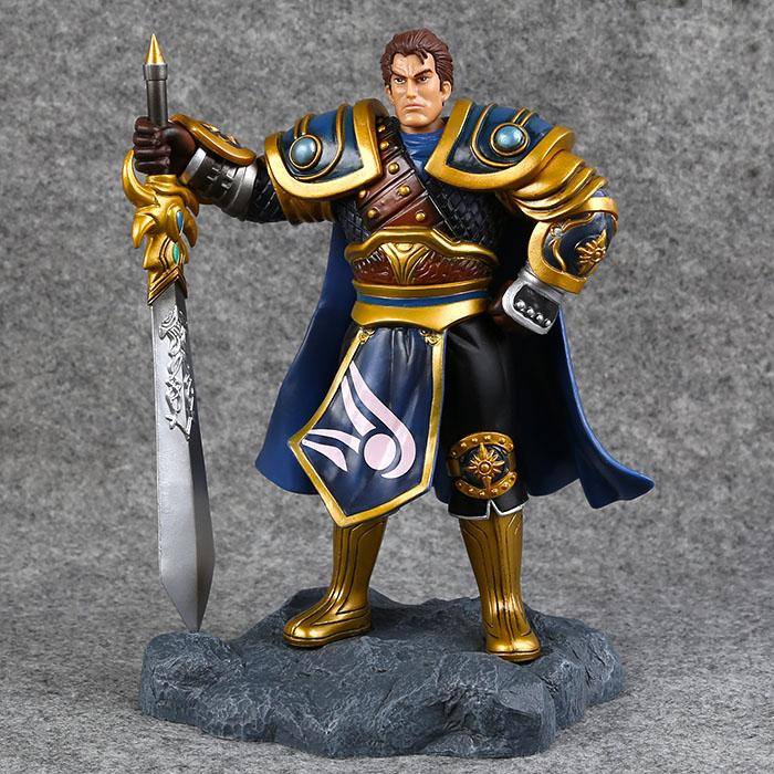 Cosplay LOL The Might of Demacia Garen 21cm/8.3'' PVC Action Figures Model Garage Kit Toys