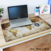 pbpad store 2017 various size new hot Super World Map office gaming mouse pad Speed Computer Gaming Mouse Pad Table Mat