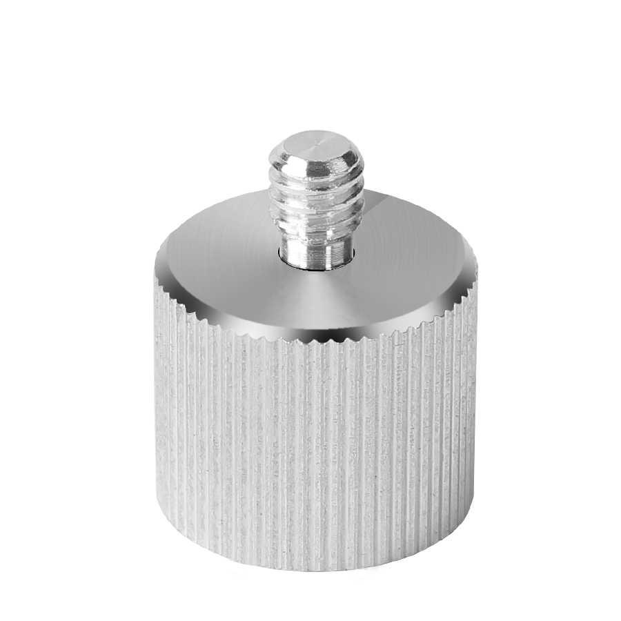 """5/8 ''1/4"""" adaptörü için 1/4 konu lazer seviyesi ve telemetre 5/8 """"tripod standı"""