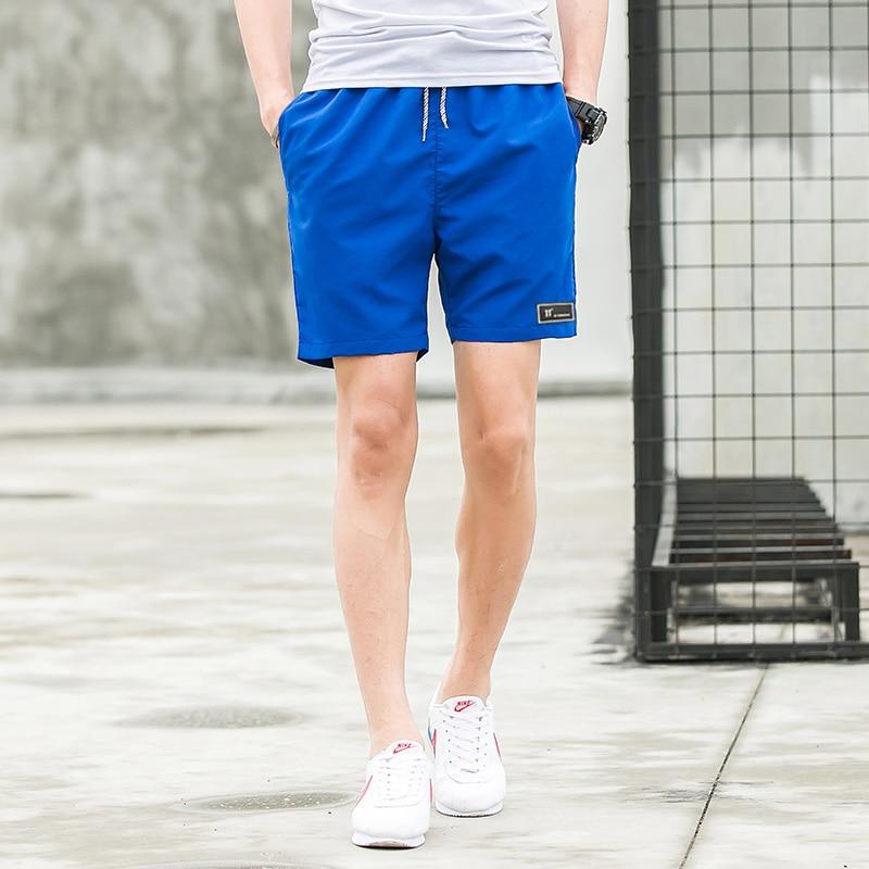 Summer hot sale Shorts Men Pure Color Men Shorts Elasic Waist Short Pans Plus Size M-5XL Size Free Shipping Short Sleeve Homme 8