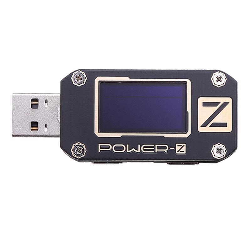 Chargeur de laboratoire POWER-Z testeur USB PD tension numérique et ondulation de courant double type-c KM001C compteur détecteur de batterie externe