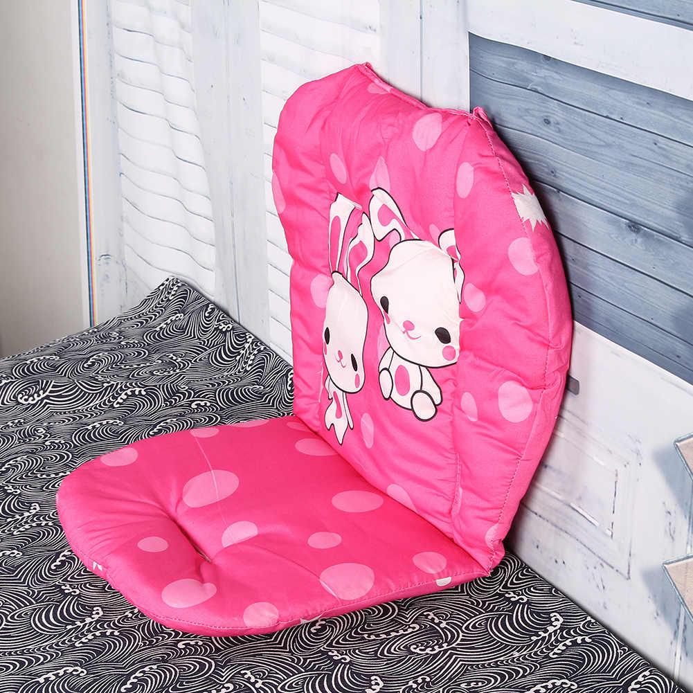 เด็กรถเข็นเบาะผ้าฝ้ายหนาเด็กร่มรถเข็นการ์ตูนเบาะรถเข็นเด็กทารกนุ่มเก้าอี้