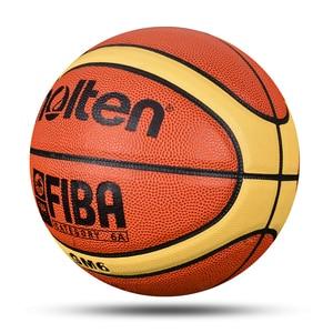Image 4 - Mais novo profissional bola de basquete tamanho 6 material do plutônio com presente gratuito alta qualidade treinamento infantil esportes basquete baloncesto