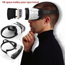 """3D Очки виртуальной реальности Гарнитура VR глаз Путешествия 3D VR пространство с Bluetooth для iPhone Huawei Samsung Sony все 4.7 -5.5 """"телефонов"""
