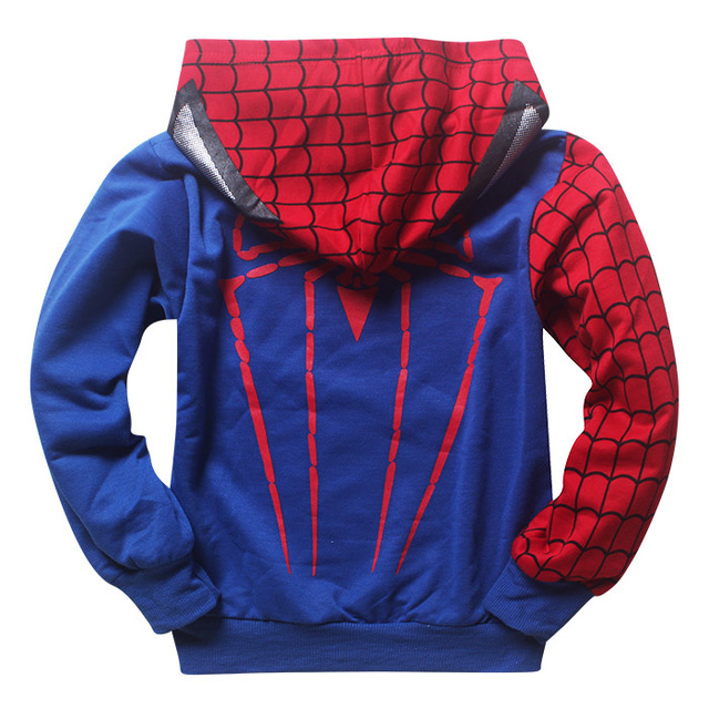 2018 New autumn superman tracksuit children's clothing set Spiderman Costume children clothes Cotton Sport Suit For Baby Boys
