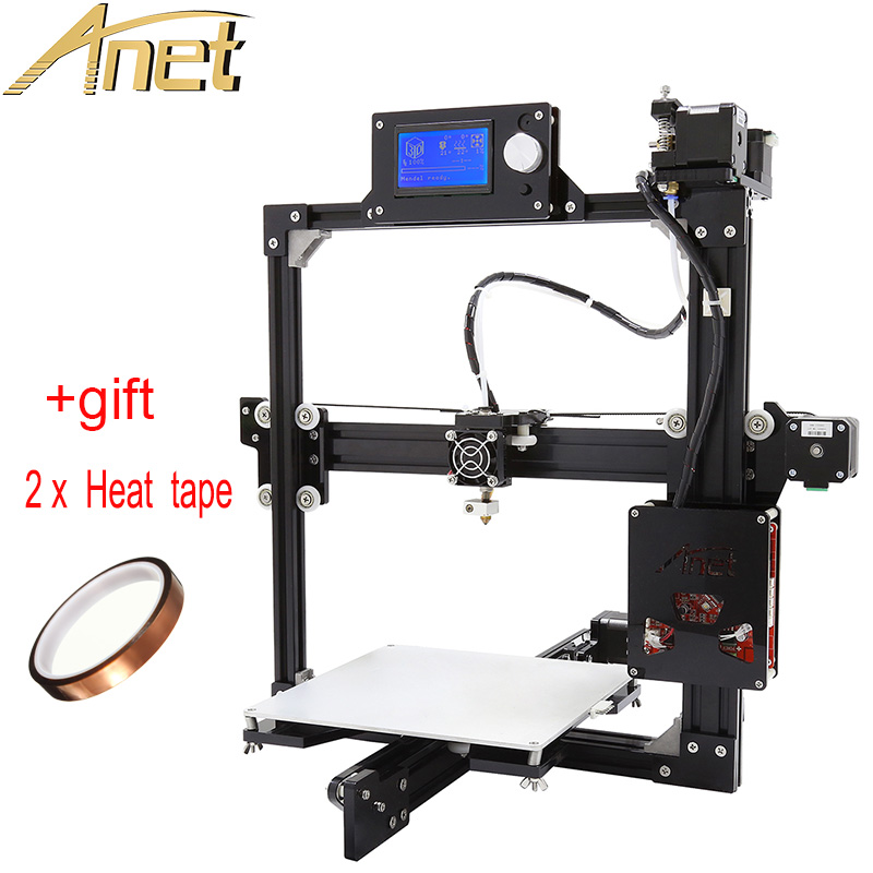 Easy Assemble Diy Metal Garage Or Shop: 12864LCD Display High Accuracy Full Metal Frame Anet A2 3D