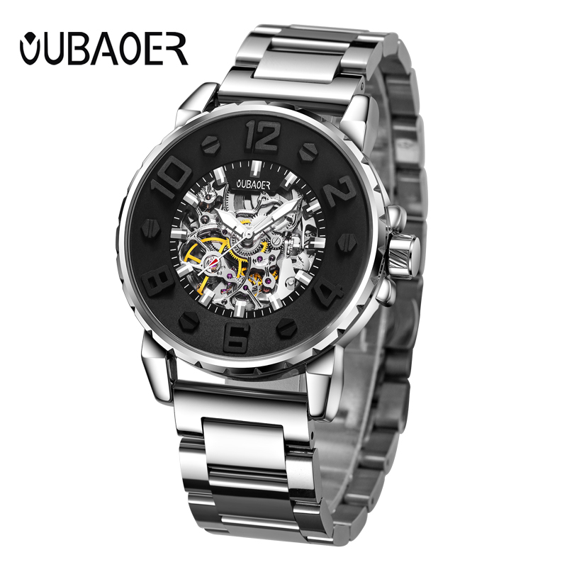OUBAOER Man Automatic Self-Wind Watches Stainless Steel Luminous Mens Watches Fashion Casual Mechanical Wristwatches OB2004OUBAOER Man Automatic Self-Wind Watches Stainless Steel Luminous Mens Watches Fashion Casual Mechanical Wristwatches OB2004