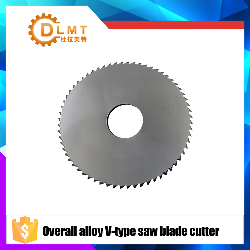 цена на 1pcs 90mm Saw Blade Circular Solid Carbide Round V Slitting Saw Cutter 90X22X6.5X36T-96degree Woodworking Cutting Tool