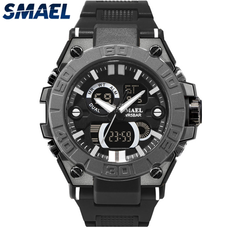 Analog Quartz Waterproof LED Digital Military Sports Wrist Watch