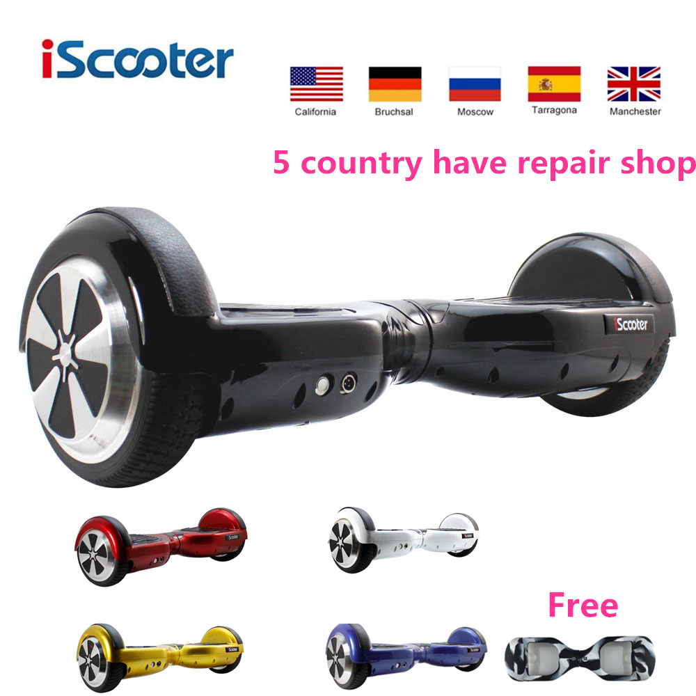 iscooter hoverboard electric skateboard self balancing 2. Black Bedroom Furniture Sets. Home Design Ideas