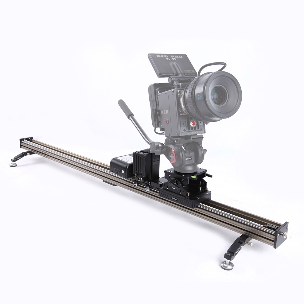 ASXMOV professional alum wired control timelapse dolly track motorized camera slider for dslr camera camcorder with controller ye 5d2 super mute 3 wheel truck dolly slider skater for dslr camera black