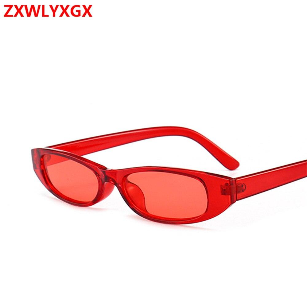 63dc9d3234 ZXWLYXGX2018 gafas de sol cuadradas pequeñas de alta calidad a la moda con  montura pequeña para mujer
