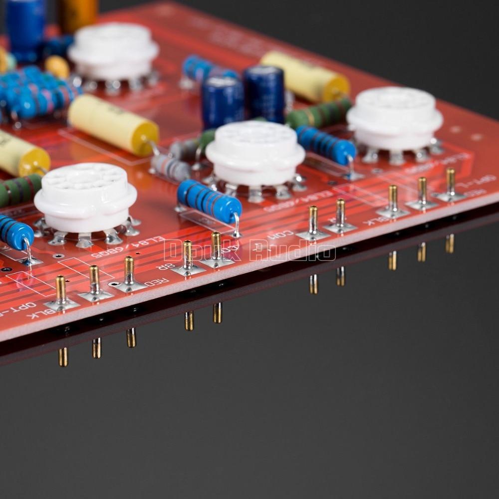 EL84 Stereo Push-Pull Vaccum Stage Amplifier Tube PCB Bare Board