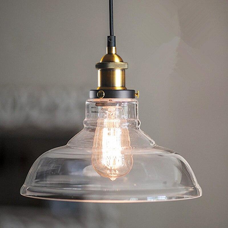 Aliexpress.com : Buy Glass Pendant Light Antique Vintage