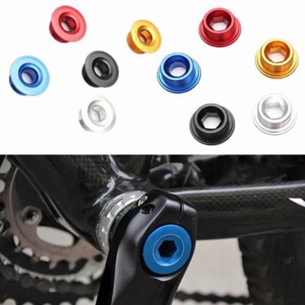 20mm anodowane rower szosowy MTB ramię korby BB śruby osi śruba mocująca ramię rower koło łańcuchowe śruba do Shimano