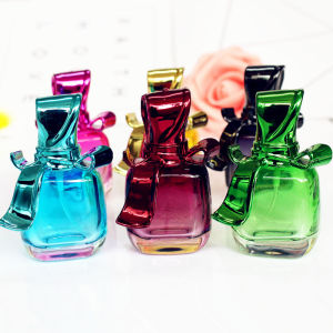 Image 1 - 1PC 15ml Glass Empty Perfume Bottles Spray Atomizer Refillable Bottle Scent Case with Travel Size Portable
