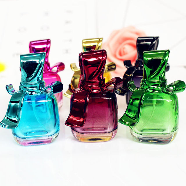 1PC 15ml Glass Empty Perfume Bottles Spray Atomizer Refillable Bottle Scent Case with Travel Size Portable