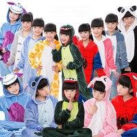 28 Colors Animal Pajamas Children Kids Pajama Flannel Pajamas Winter Garment Cute Cartoon Animal Onesies Pyjamas