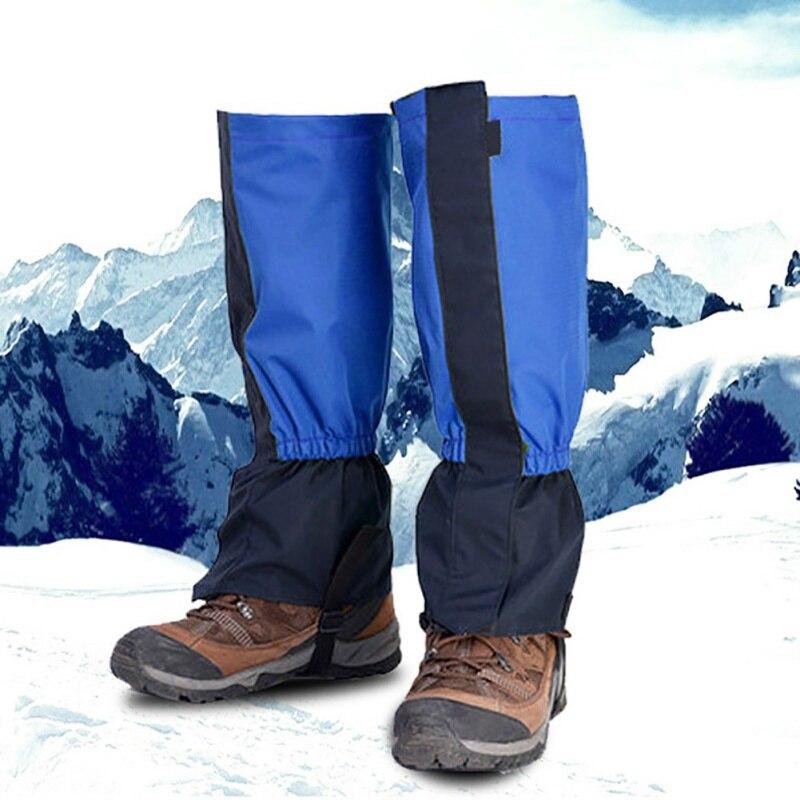 Водонепроницаемые леггинсы унисекс, Защита ног, для кемпинга, походов, лыж, обуви, путешествий, снега, охоты, скалолазания, ветрозащитные