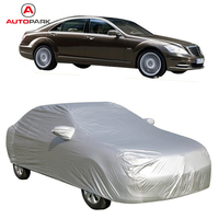 Full Car Cover Indoor Outdoor Sunscreen Heat Protection Dustproof Anti UV Scratch Resistant Sedan Universal Suit