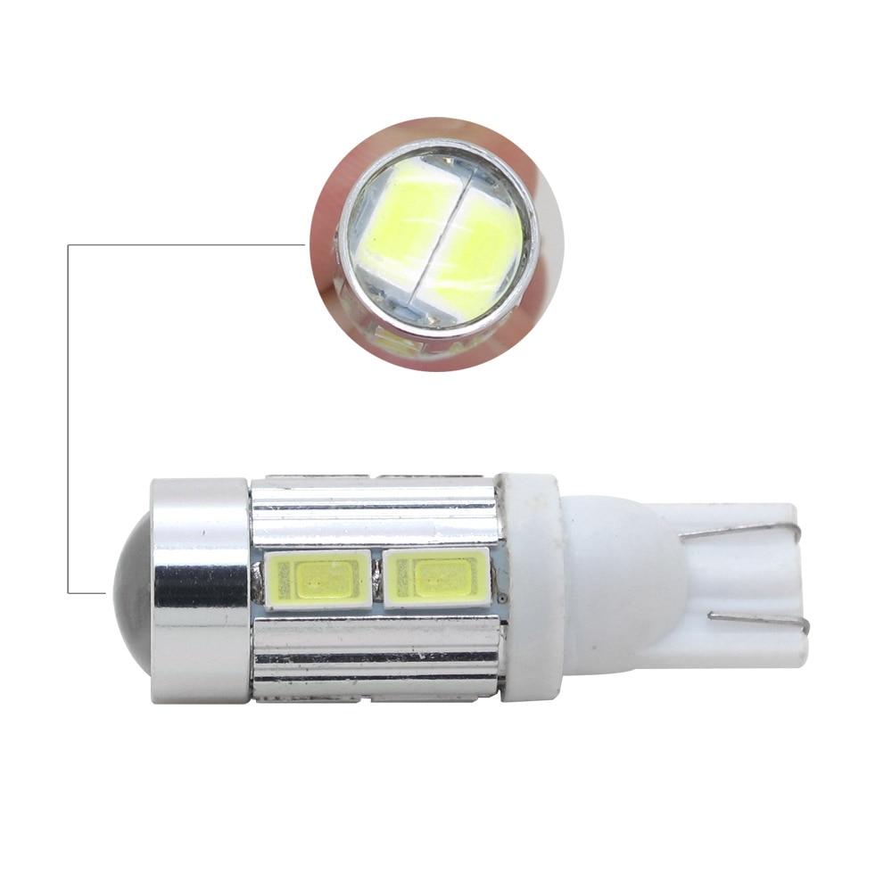 1pcs T10 W5W 194 168 LED Car Lights 12V 5630 5730 SMD 12V Auto License Plate Bulb Parking Lamp Turn Signal Light