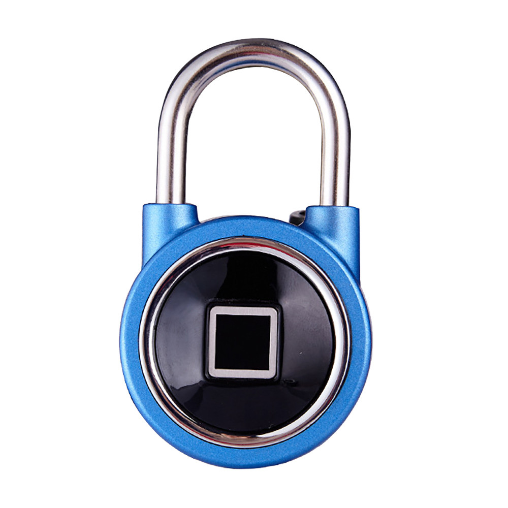 USB Rechargeable Smart Keyless Fingerprint Lock IP65 Waterproof Anti-Theft Security Padlock Door Luggage Case Lock OCT 9 the pencil