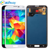 Hight Qualily Full LCD For Samsung S5 LCD G900F Display LCD Screen Touch Digitizer Assembly For Samsung Galaxy S5 G900 G900F LCD