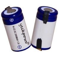 Prezzo più basso 150 pezzo SC batterie 1.2v batteria ricaricabile 2000mAh nicd batteria per utensili elettrici akkumulator