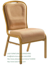 wholesale quality strong gold aluminum vip hotel banquet chairs LQ-L13100A