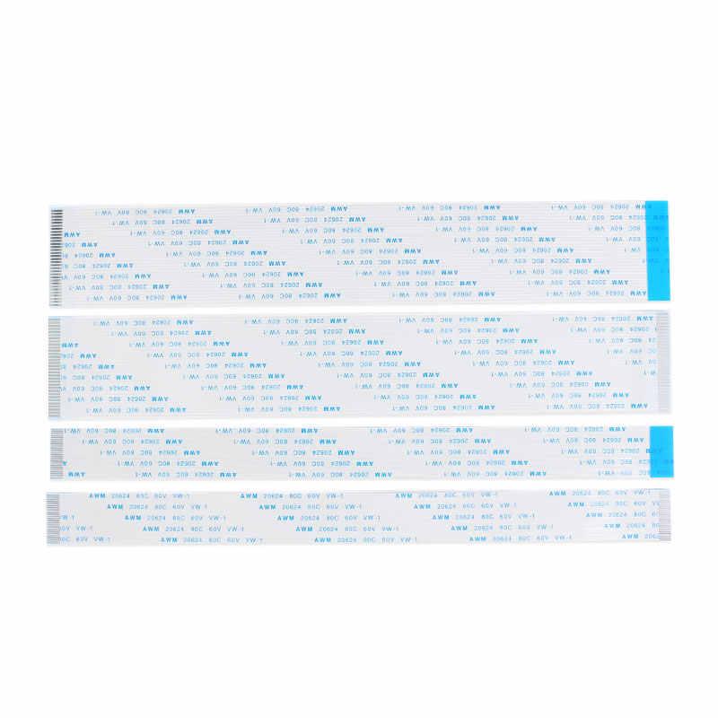 10 шт 24 Pin FPC/FFC ленточный Гибкий плоский кабель шаг 0,5 мм/1,0 мм провод Длина 6/10/15/20/25/30/40 см