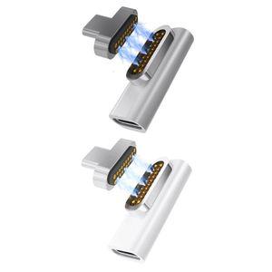 20 Pin Magnetische USB Type C Quick Charge Adapter Converter voor MacBook Pro Tablet Samsung Xiaomi HTC Android Smartphones