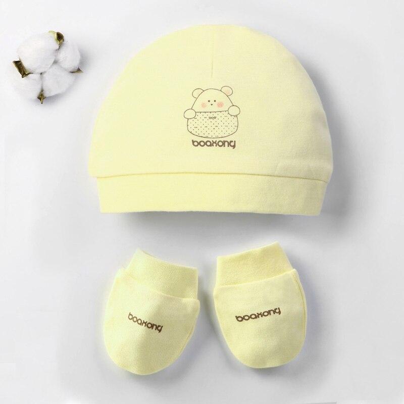 Детская шапка для 0-12 месяцев, хлопок, унисекс, мягкая милая детская шапка, шапка для новорожденных мальчиков и девочек на все сезоны, Мультяшные Шапки для малышей - Цвет: Сливовый