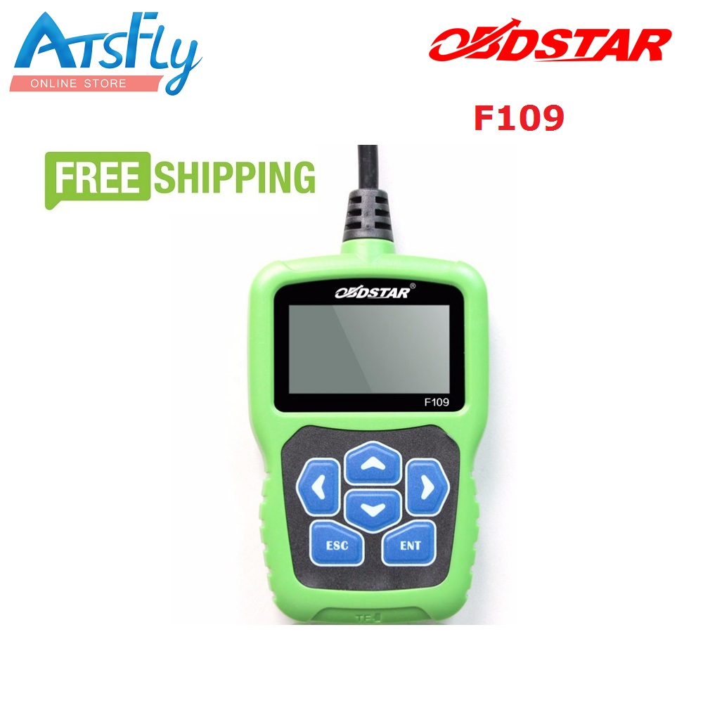 New arrival OBDSTAR F109 for SUZUKI pin code Calculator with Immobiliser Odometer Function F109 free shipping