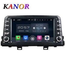 KANOR Android 6.0 Octa core 4G Car GPS Multimedia Player For KIA Morning 2017 Audio Radio SatNavi Headunit Bluetooth WIFI